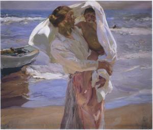 saliendo del mar-1915