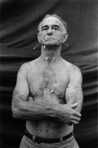 The Human Pincushion, Ronald C. Harrison, New Jersey, 1962