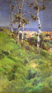 vista de barcelona dsd tibidabo-Eliseo-Meifren-i-Roig