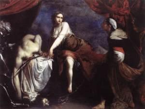 Judith-and-Holofernes francesco furini 1636 galleria nazionale d´art antica roma
