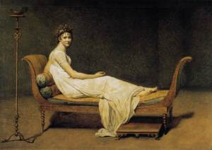 Mme Recamier david 1800