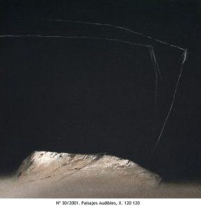 paisajes audibles, X, 2001, arnas tal, 120 x 120