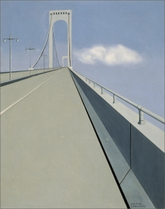 "Ralston Crawford, ""Whitestone Bridge,"" The Memorial Art Gallery of the University of Rochester final 40"