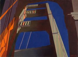 sheeler Golden Gate, 1955 oleo lienzo George A. Hearn Fund