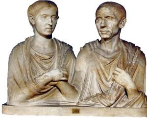 El-grupo-funerario-de-Caton-y-Porcia