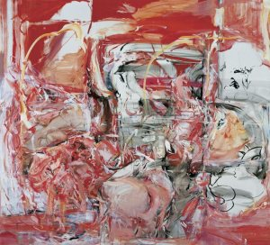 Cecily Brown The Girl Who Had Everything 1998. Oil on Linen 254 x 279cm.