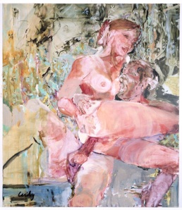 Sweetie, Cecily Brown, 2001, oil on canvas