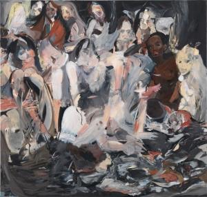 Untitled, 2012 oL 226.1 x 215.9 cm