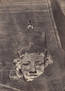 Maxime_Du_Camp_(French_-_Westernmost_Colossus,_the_Great_Temple,_Abu_Simbel_-_Google_Art_Project