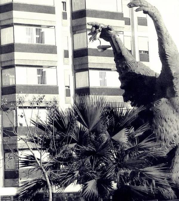 Vicente Luna, King Kong. Parque La Granja, Santa Cruz de Tenerife. Foto vía Twitter @FotosTenerife